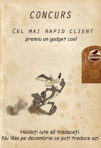 "Campania concurs "" Cel mai rapid client"""